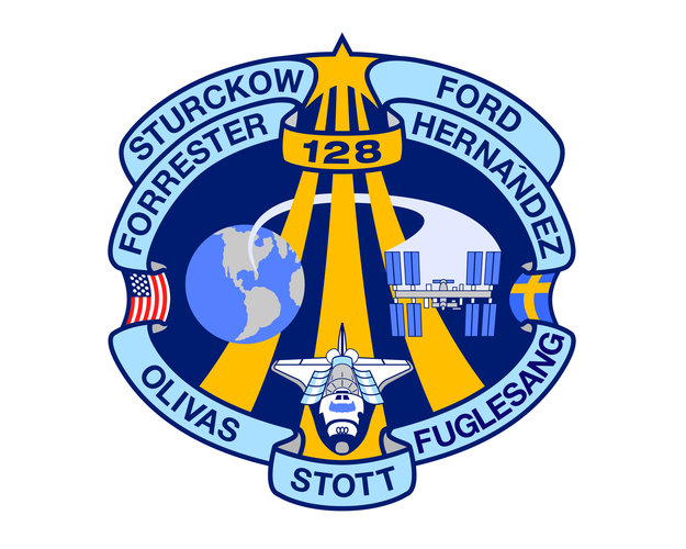 STS-128 patch, 2009