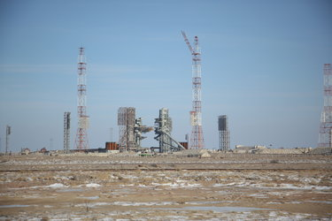 Baikonur launch site