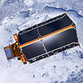 CryoSat's 'roof'
