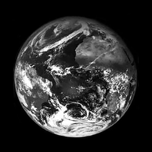 Meteosat-6 image of Earth