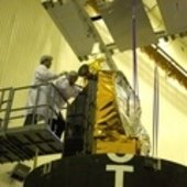 CryoSat-2 lowered into the fairing