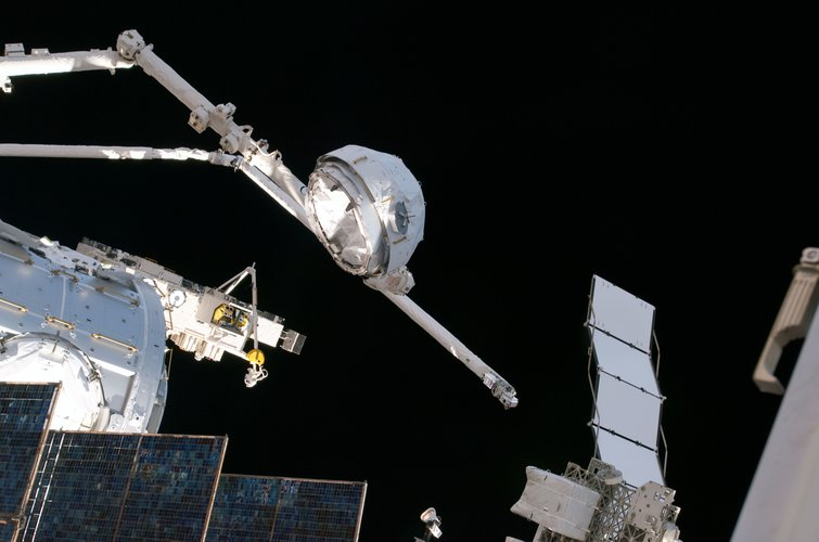 Cupola transferred to final position on Node-3