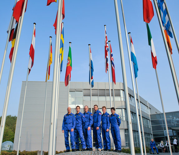 Europe's new astronauts