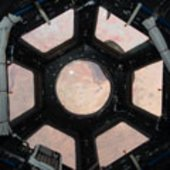 First image taken through Cupola