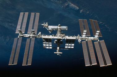 ISS photographed by an STS-130 crew member