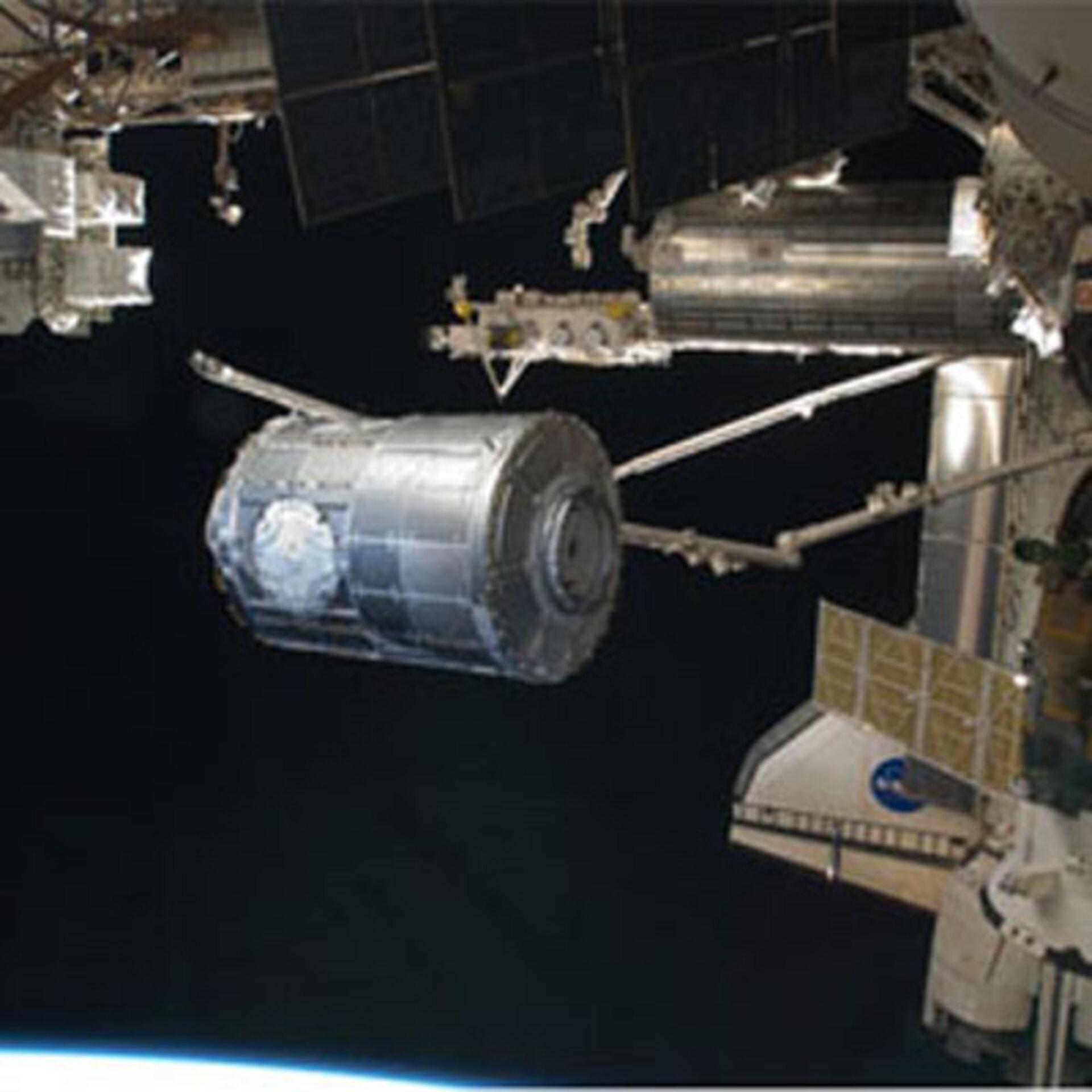 Esa Astronauts Enter Space Station S New Node 3