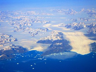 Greenland from the DLR aircraft