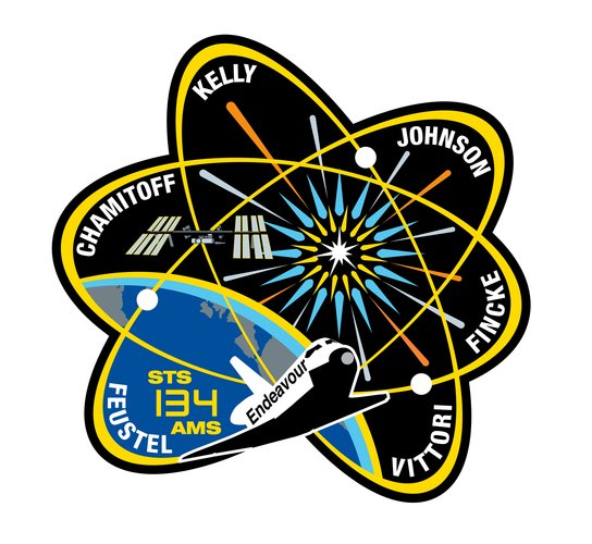 STS-134 patch, 2011