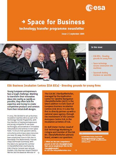 ESA TTP Newsletter 2009, Issue 2