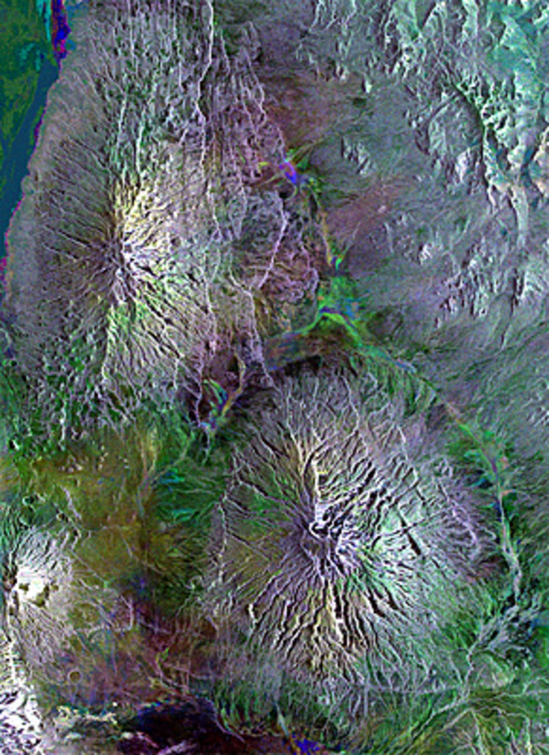 Earth From Space Cool Lava In Africa S Great Rift Valley