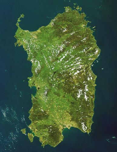 Cartina Sardegna Satellite.Esa Le Regioni Italiane Viste Dallo Spazio