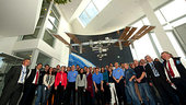 One team: ESA, Russian & Canadian astros & mission controllers
