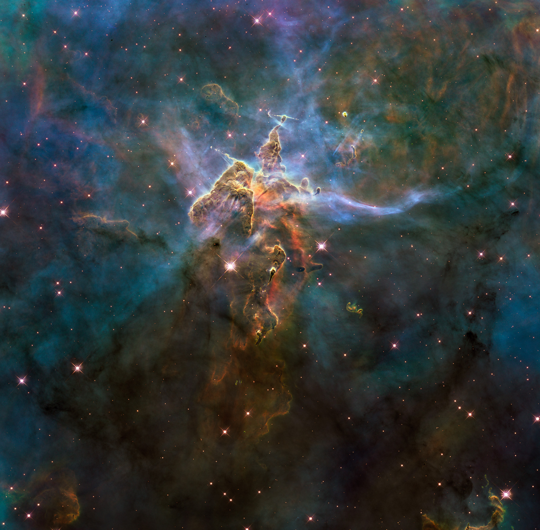 blue nebula hubble - photo #29