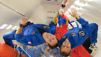 Andreas Mogensen and Timothy Peake