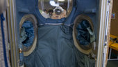 'Entry door' of an Orlan spacesuit