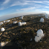 ESA's Optical Ground Station, Tenerife, is supporting SSA