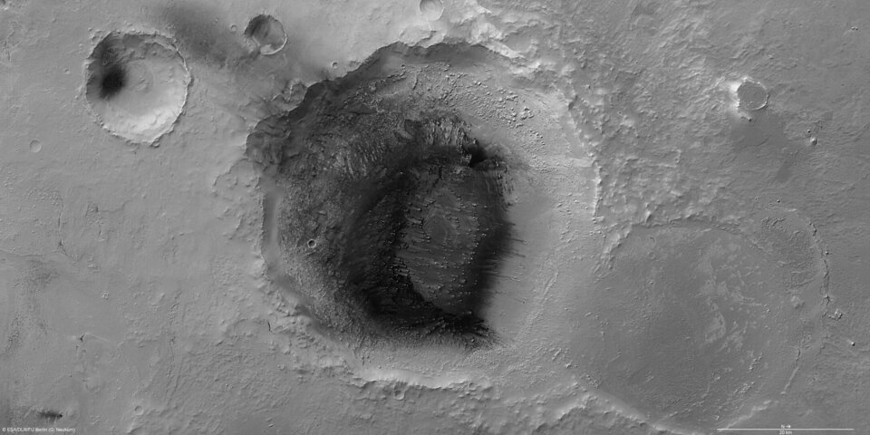 Meridiani Planum in high resolution