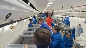 Activity during the ESA 52rd parabolic flight campaign