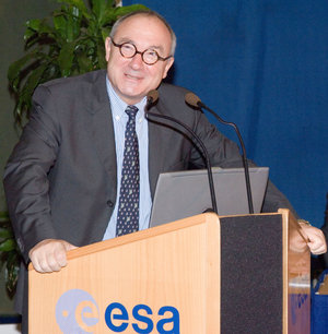 ESA Director General, Jean-Jacques Dordain