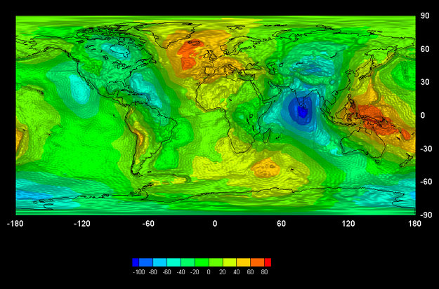 GOCE giving new insights into Earth's gravity / GOCE / Observing
