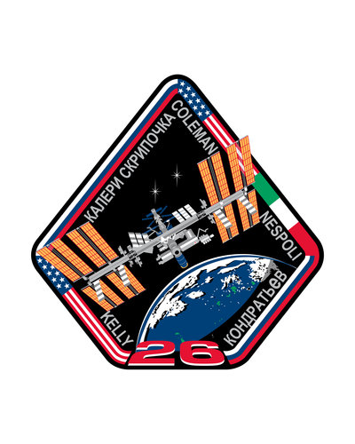 ISS Expedition 26 patch, 2010