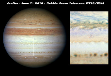 Jupiter's mysterious flash left no debris