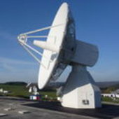 Galileo IOT L-band antenna at Redu