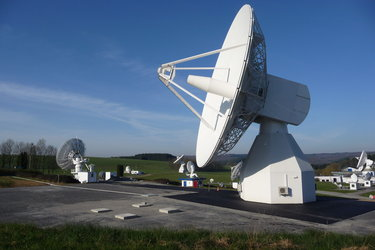 L-band antenna at Redu ground station