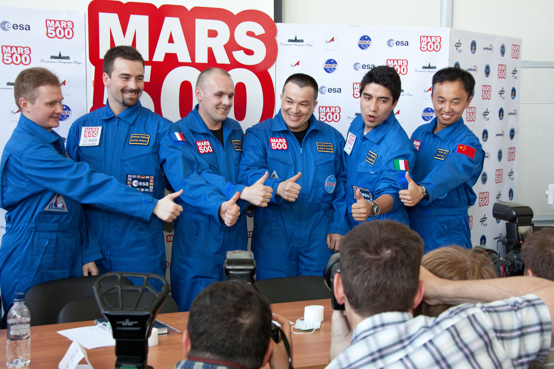Crew of the Mars500 experiment
