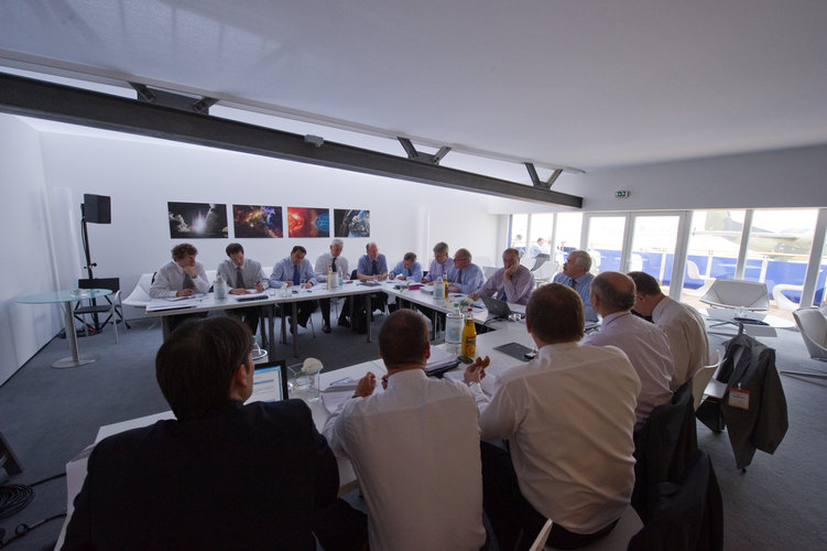 Meeting with heads of ESA Delegations