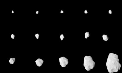 Approach images of Asteroid Lutetia