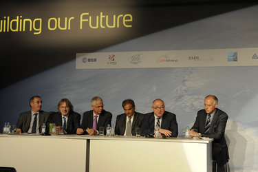 Forum Participants at the Space Day Conference
