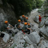 Astronauts survival training, June 2010