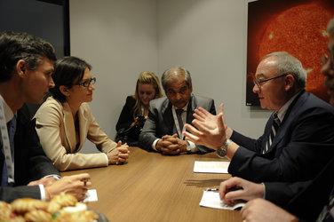 Meeting between the Italian Minister for Education, Universities & Research and the European Space Agency