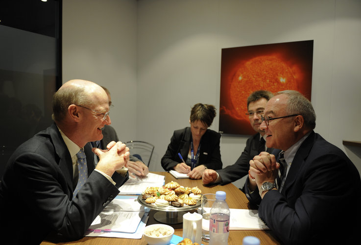 Meeting between the UK Minister for Universities & Science and the European Space Agency