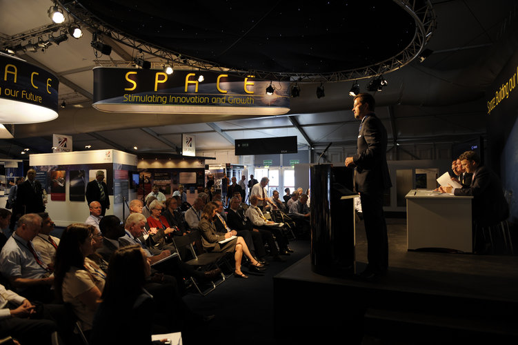 New funding and support for Space Entrepreneurs Event.