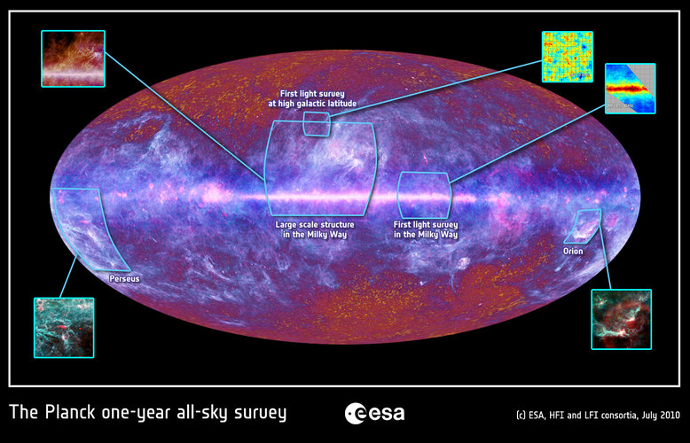 The microwave sky as seen by Planck with previous releases