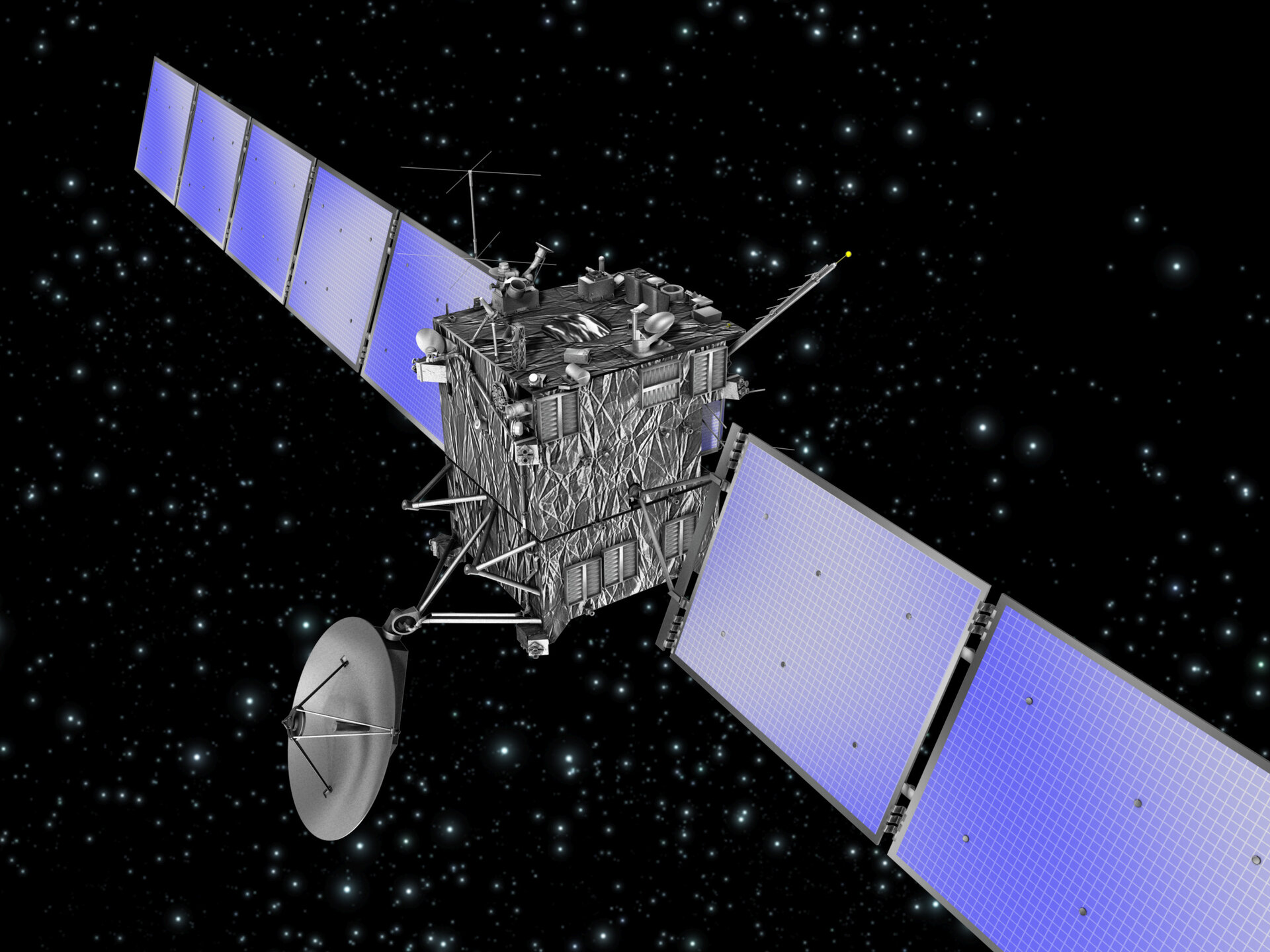 The Rosetta Spacecraft