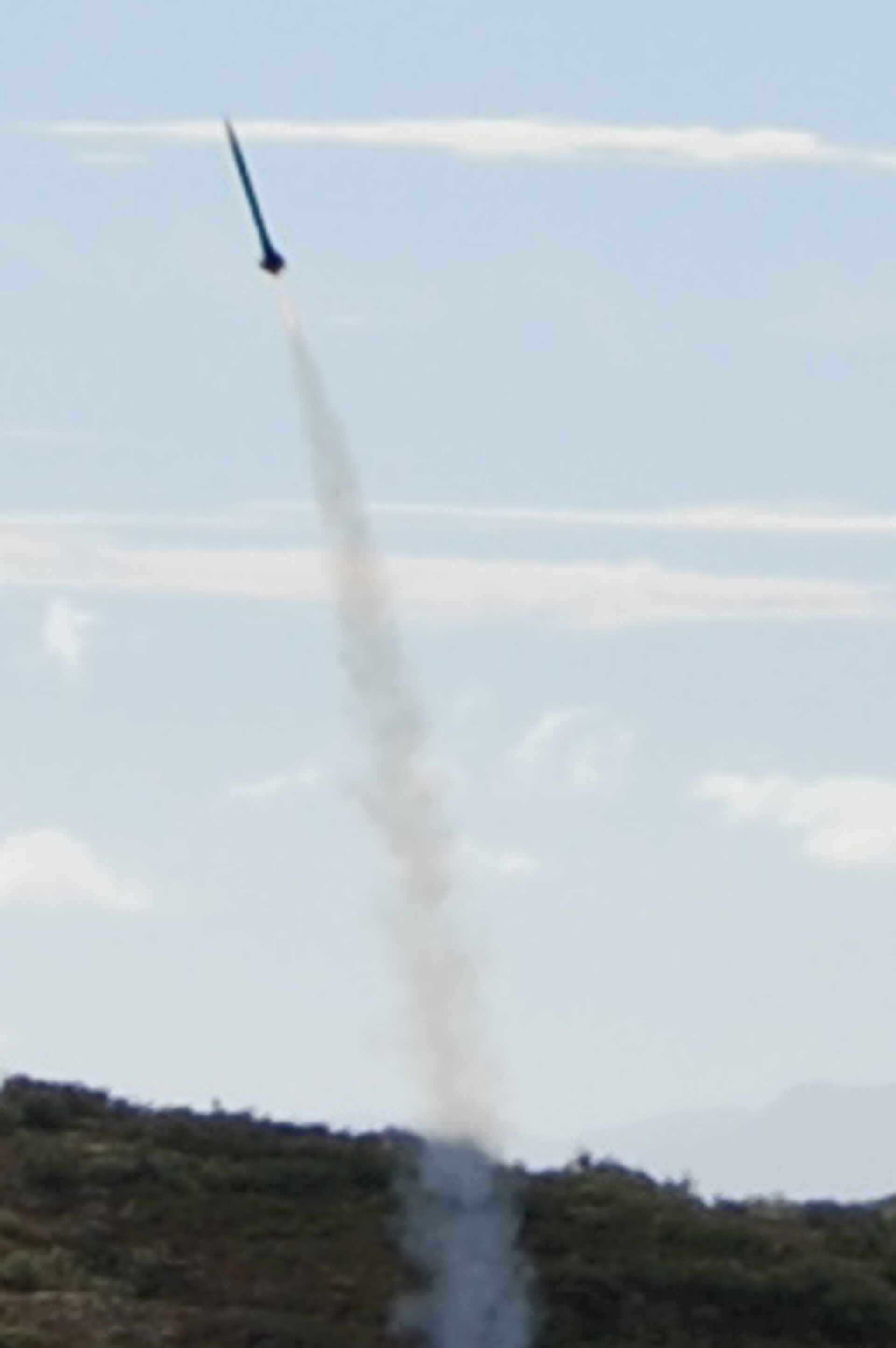 An Intruder rocket