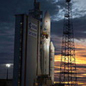 Ariane 5 ECA ready for flight 196