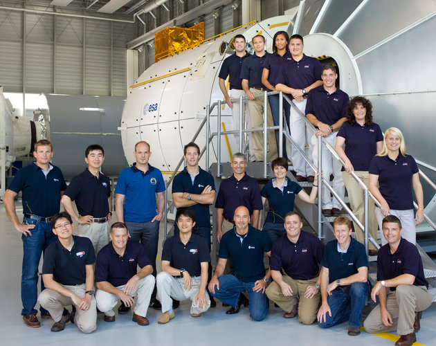 International astronaut candidates at the European Astronaut Centre