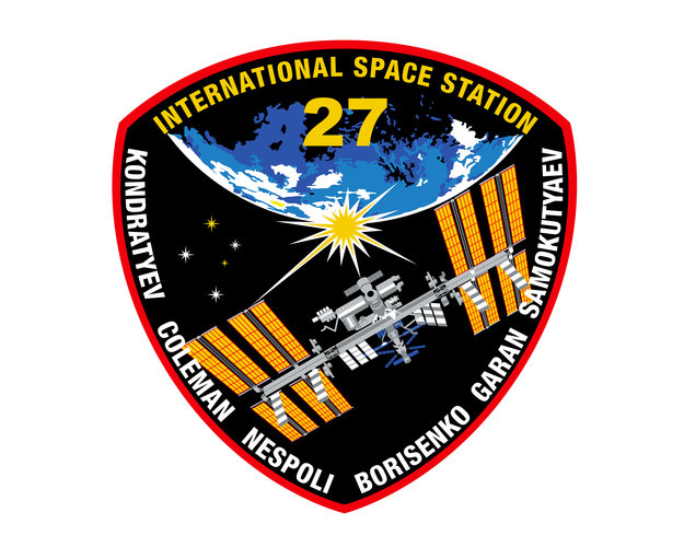ISS Expedition 27 patch, 2011