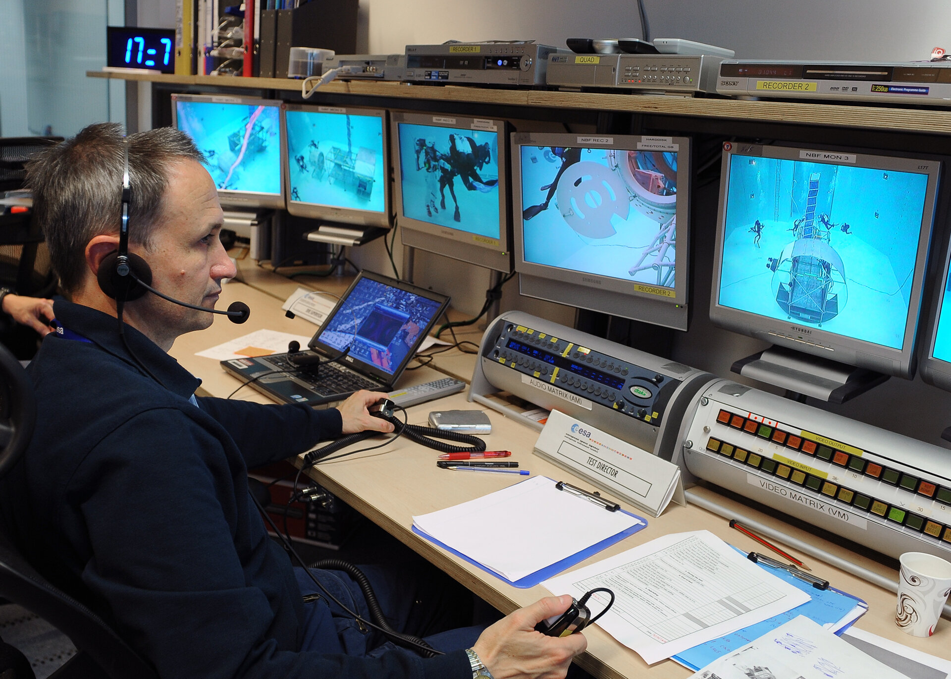 Test director Hervé Stevenin
