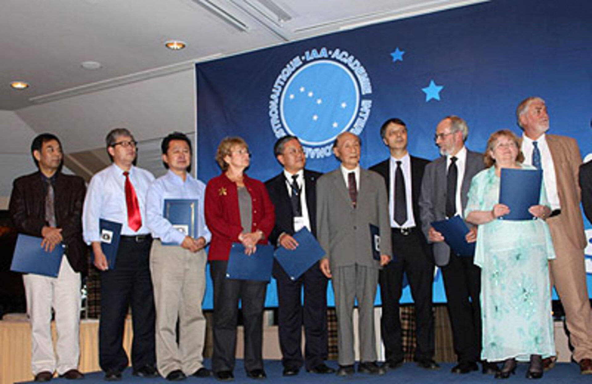 Ceremony for the International Academy of Astronautics Laurels 2010