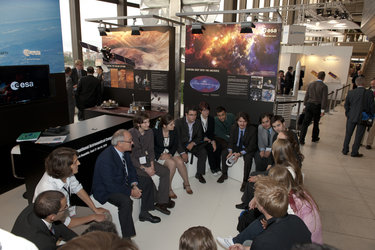 ESA DG Q&A with students