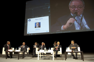 Jean-Jacques Dordain, ESA DG addresses IAC 2010 plenary session