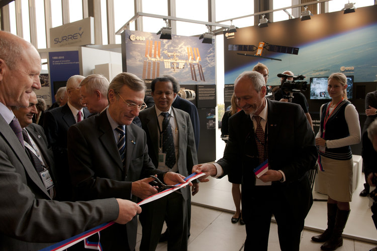 Opening Ceremony of the exhibition at IAC 2010
