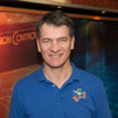 Paolo Nespoli poses for a portrait