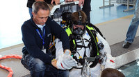 Andreas Mogensen during EVA training