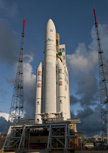 Ariane 5 ECA ready for flight 197